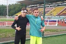 Jakub Budil (vlevo) a Ondřej Kohout.