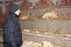 Chlebový betlém v Prácheňském muzeu v Písku.