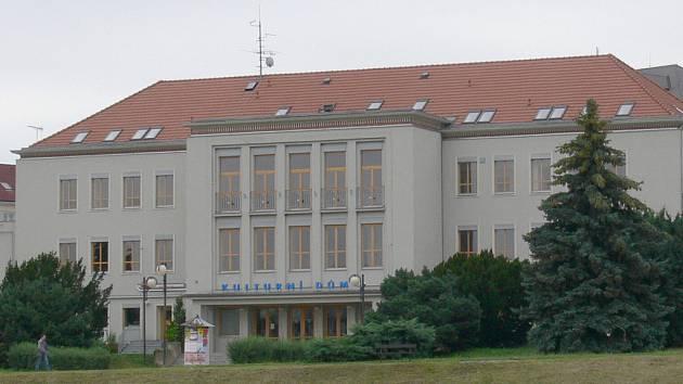 Dům kultury v Písku.