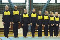 V sobotu 2. dubna se ve sportovní hale v Písku uskuteční mezinárodní závod v moderní gymnastice, který pořádá domácí oddíl TJ Sokol. Na snímku jsou písecké gymnastky při nedávném závodě Jihočeské ligy.