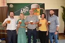 Pivovar Platan slaví 480 let. Pro milovníky piva navařili sládci nový výroční ležák.