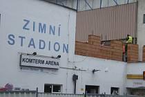 Rekonstruovaný písecký zimní stadion