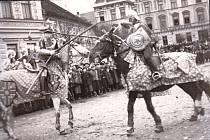 Milevské maškary roku 1936.