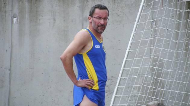 Milevský atlet Pavel Fleischmann.