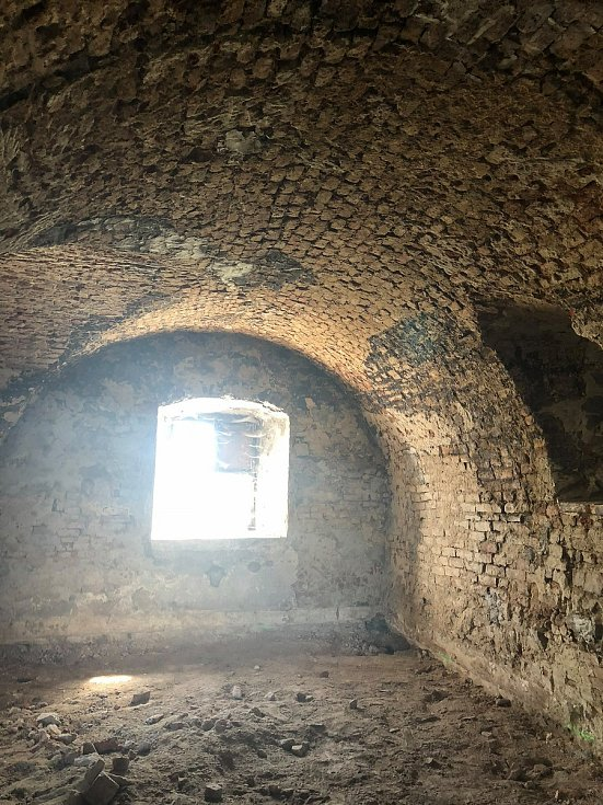 Interiéry pivovaru v Čížové před rekonstrukcí