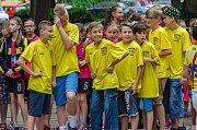 Slavnostní zahájení Sportovních her mládeže 2017 v Písku.