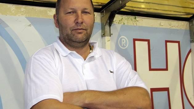 Trenér píseckých hokejistů Rudolf Suchánek.