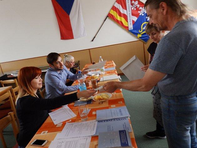 Volby do Evropského parlamentu vOslově.