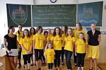 KOSTELÁČEK V ROCE 2013 na setkání obcí, které mají v názvu Kostelec. Uskutečnilo se v červnu v Kostelci nad Labem.