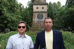 Uctění památky u pomníku legionářů.