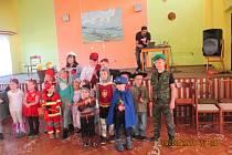 Dětský karneval ve Svučicích.