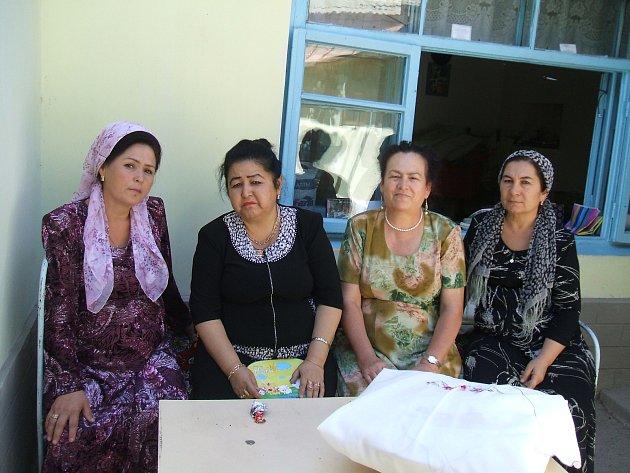 Historický i současný Uzbekistán.