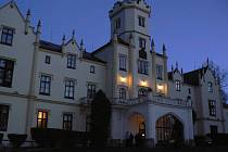 Lázeňské sanatorium ve Vráži u Písku.