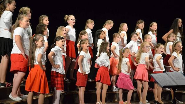 25. koncert dětských pěveckých sborů v Protivíně.
