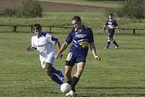 Okresní fotbalové soutěže měly o víkendu na programu další zápasy jarní sezony.