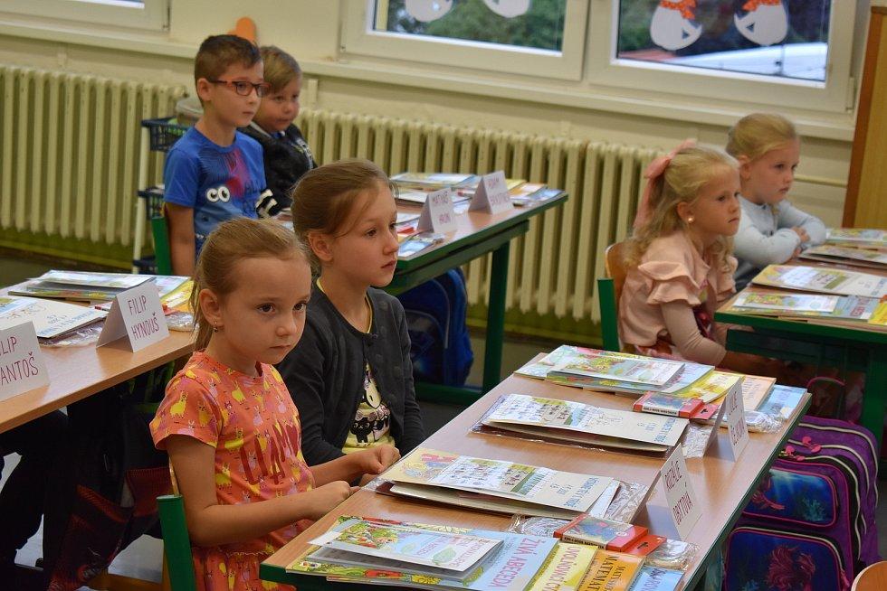 První školní den na ZŠ Jana Husa v Písku.