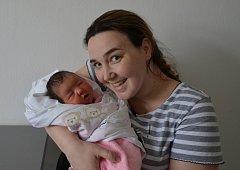 Dominika Rysová zPísku. Kateřina a David Rysovi se radují zprvorozené dcery narozené 1. 4. 2018 v18.02 hodin. Při porodu vážila 3360 g a měřila 49 cm.