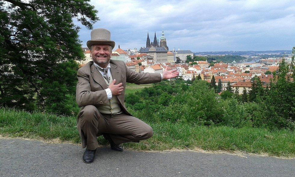 Dvořan v Praze.