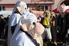 Jeden z prvních masopustů v roce 20147 se konal v Protivíně. Tématem byl Večerníček.