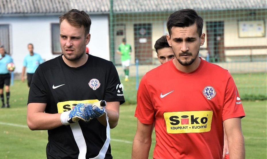 Fotbalista David Přibyl.