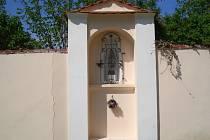 Kaplička v Borečnici, jedné z osad obce Čížová