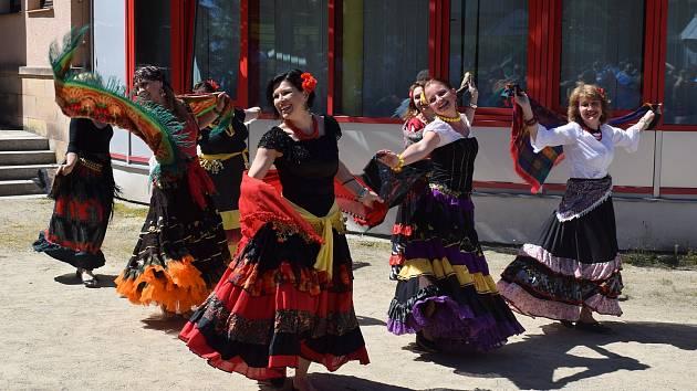 Taneční show v Milevsku