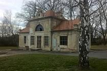 Nejstarší samostatná budova v areálu nemocnice Písek.