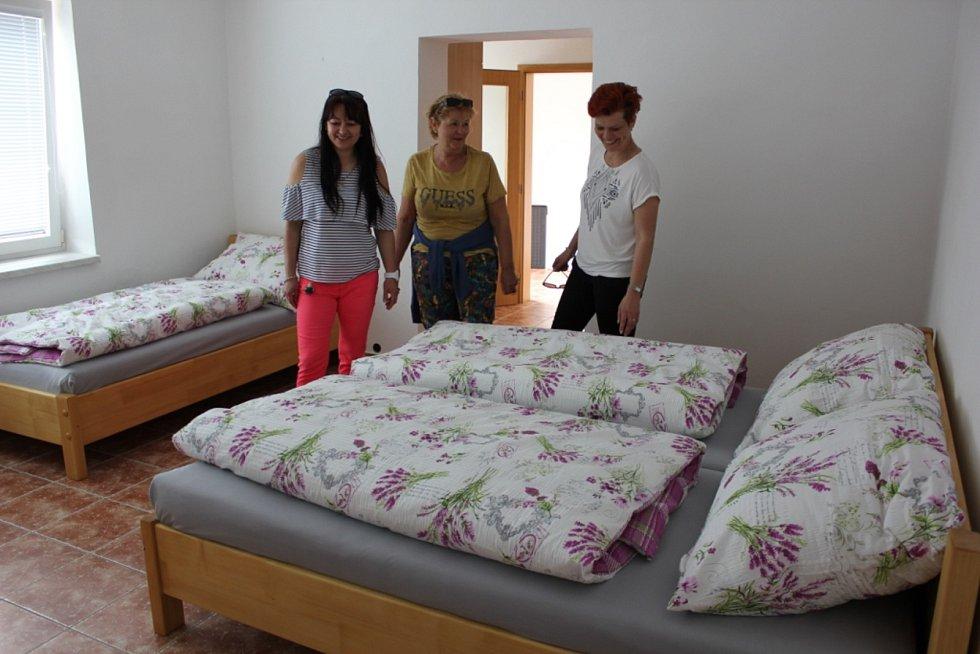 Den otevřených dveří na obecním statku v Hrejkovicích.