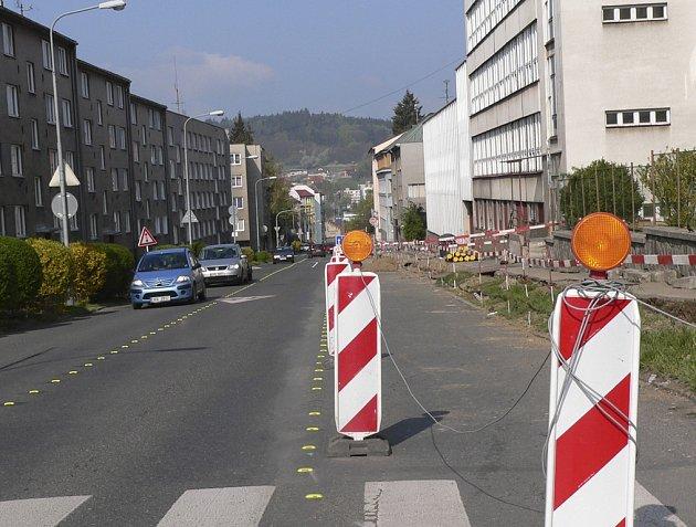 Zeyerova ulice v Písku