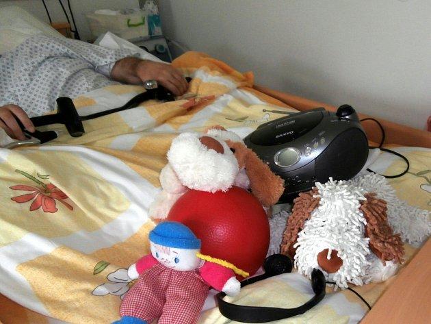 Bazální stimulace v písecké nemocnici.