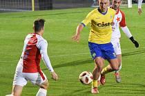 FC Písek – SK Slavia Praha 1:0 (1:0).