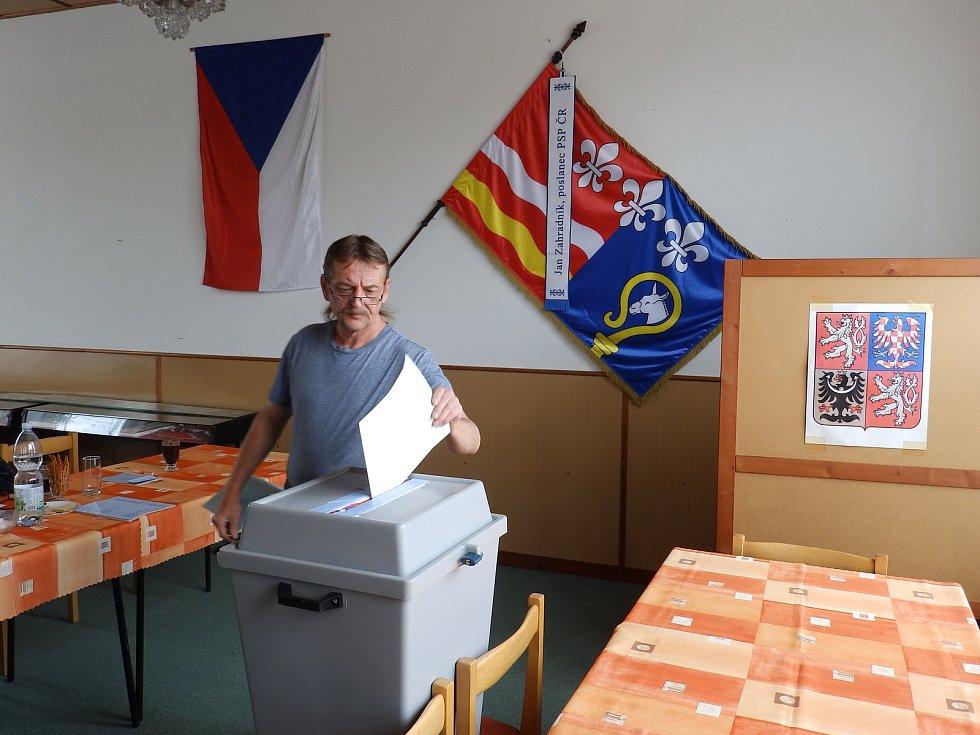 Volby do Evropského parlamentu v Oslově.