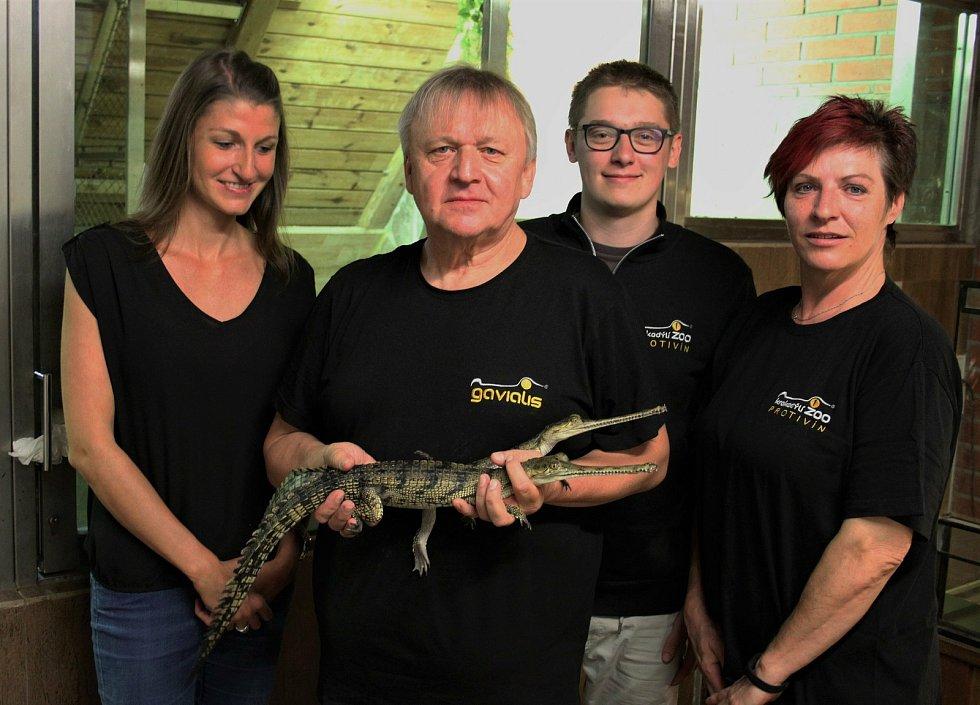 Miroslav Procházka, majitel krokodýlí zoo v Protivíně
