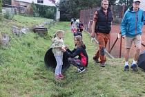 Stovka dětí si odpoledne užila putování po stanovištích, kde měly ukázat lví sílu, vytrvalost a moudrost.