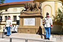 Pomník padlým vojákům 11. píseckého pluku.
