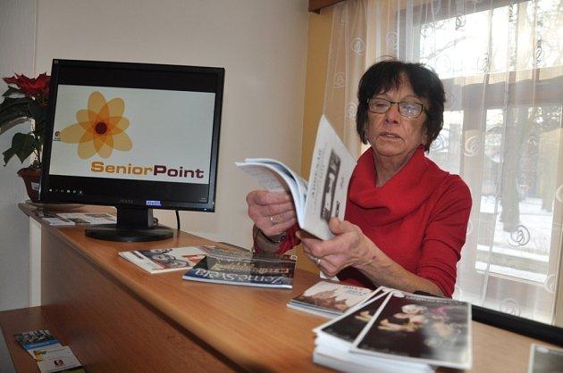 Rady a informace získají zájemci v Senior Pointu u jeho pracovnice Alexandry Zajíčkové.