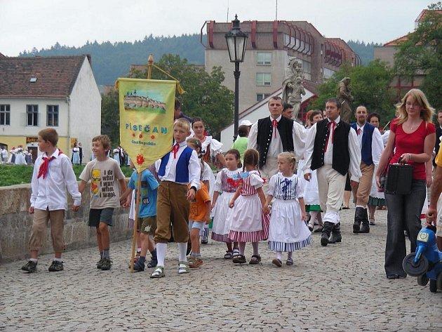 XV. folklorni festival Písek 2009