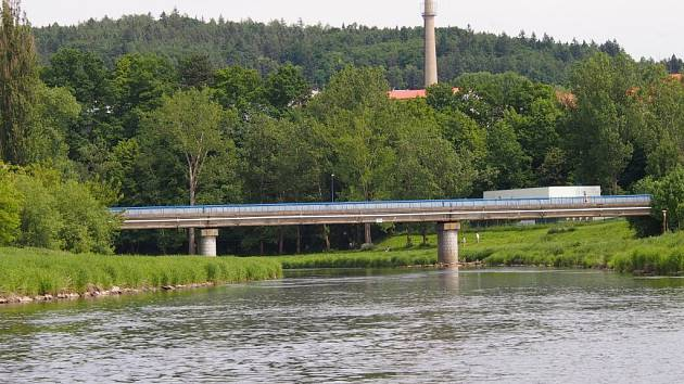 Jiráskův most v Písku.