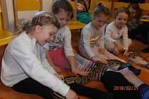 Kamarádi ze ZOO v Mateřské škole Kostelec nad Vltavou.