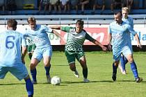 Fotbalový KP: Protivín - Český Krumlov 1:4 (1:1). Foto: Jan Škrle