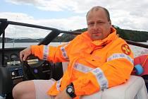 Záchranář Tomáš Moucha.