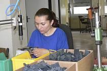 Přes 60 procent zaměstnanců Výrobního družstva Otava Písek tvoří lidé se zdravotním postižením.