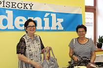 Marie Posnerová (vlevo) a Alena Černá.