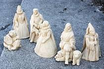 Takto by měly vypadat sochy Rožmberků, které vyrostou u Kamenného mostu.