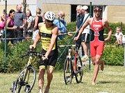 Vítězem Tálínského triatlonu se stal Jan Hradecký z Příbrami
