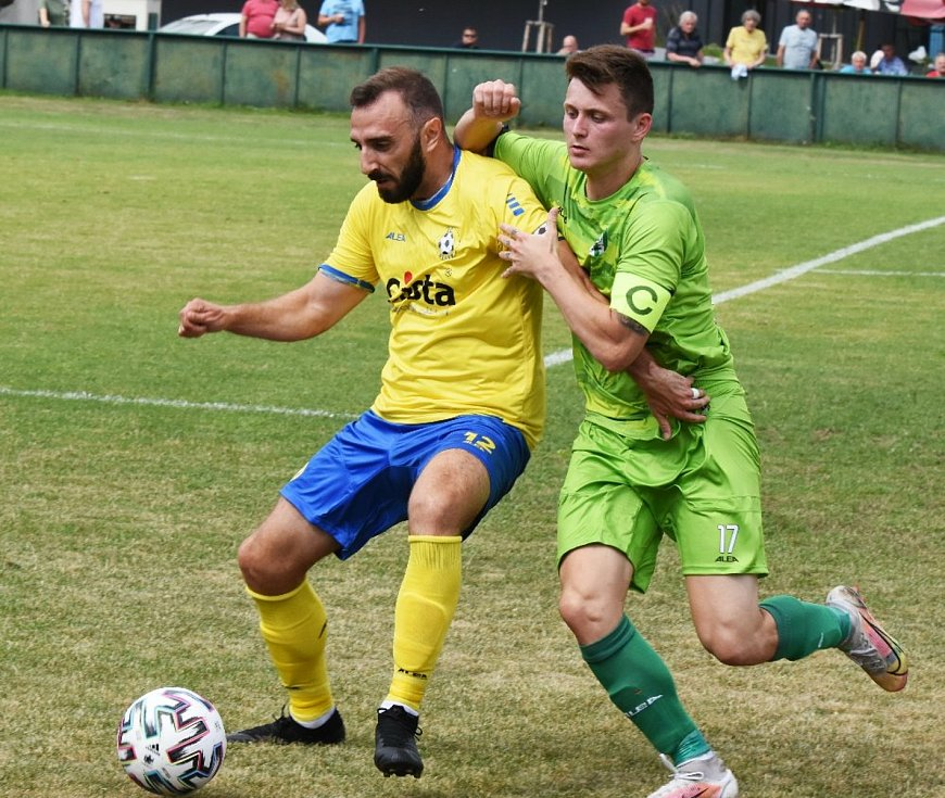 Fotbalisté Písku odstartovali sezonu v ČFL výhrou 2:1 na pražském Vltavínu.