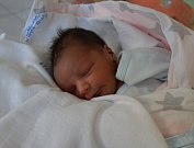Matyáš Kopřiva zProtivína. Prvorozený syn Žanety Červeňákové a Jana Kopřivy se narodil 29. 3. 2019 v18.54 hodin. Při narození vážil 3300 g a měřil 49 cm. Foto: Jana Krupauerová