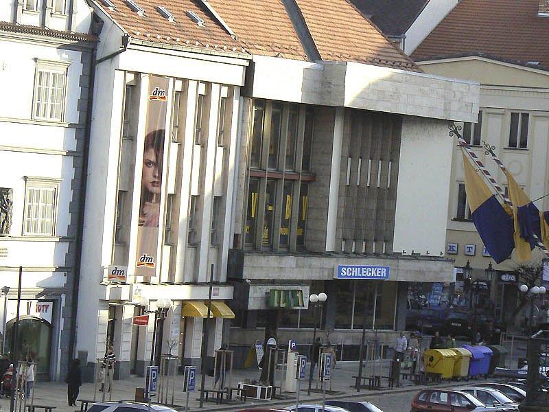 Obchodní centrum Luna na Velkém náměstí v Písku (ilustrační foto).