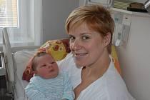 Václav Pelc zPísku. Prvorozený syn Gabriely a Václava Pelcových se narodil 3. 11. 2018 v8.49 hodin, při narození vážil 4850 g a měřil 53 cm.