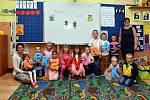 První školní den v ZŠ Sepekov. Třídní učitelka Ludmila Tollingerová přivítala třináct prvňáčků.